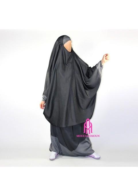 Jilbab-sarouel Denim