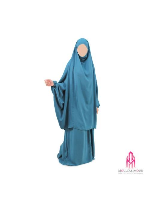 Jilbab Hanifa Wool Peach