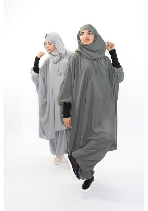 Tunic and hijab wtih sarouel Active Wear