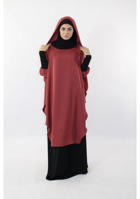 Tunique Young:hijab et capuche intégré