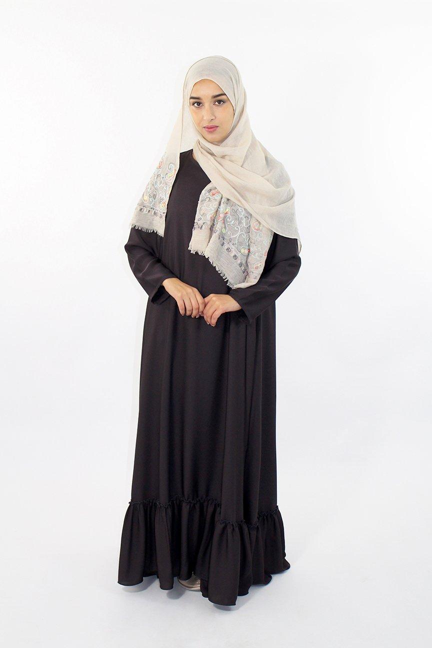 Abaya Volant