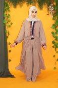 Abaya Kimono Fronces al khansa