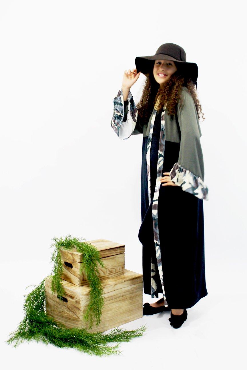 Abaya Kimono Camouflage