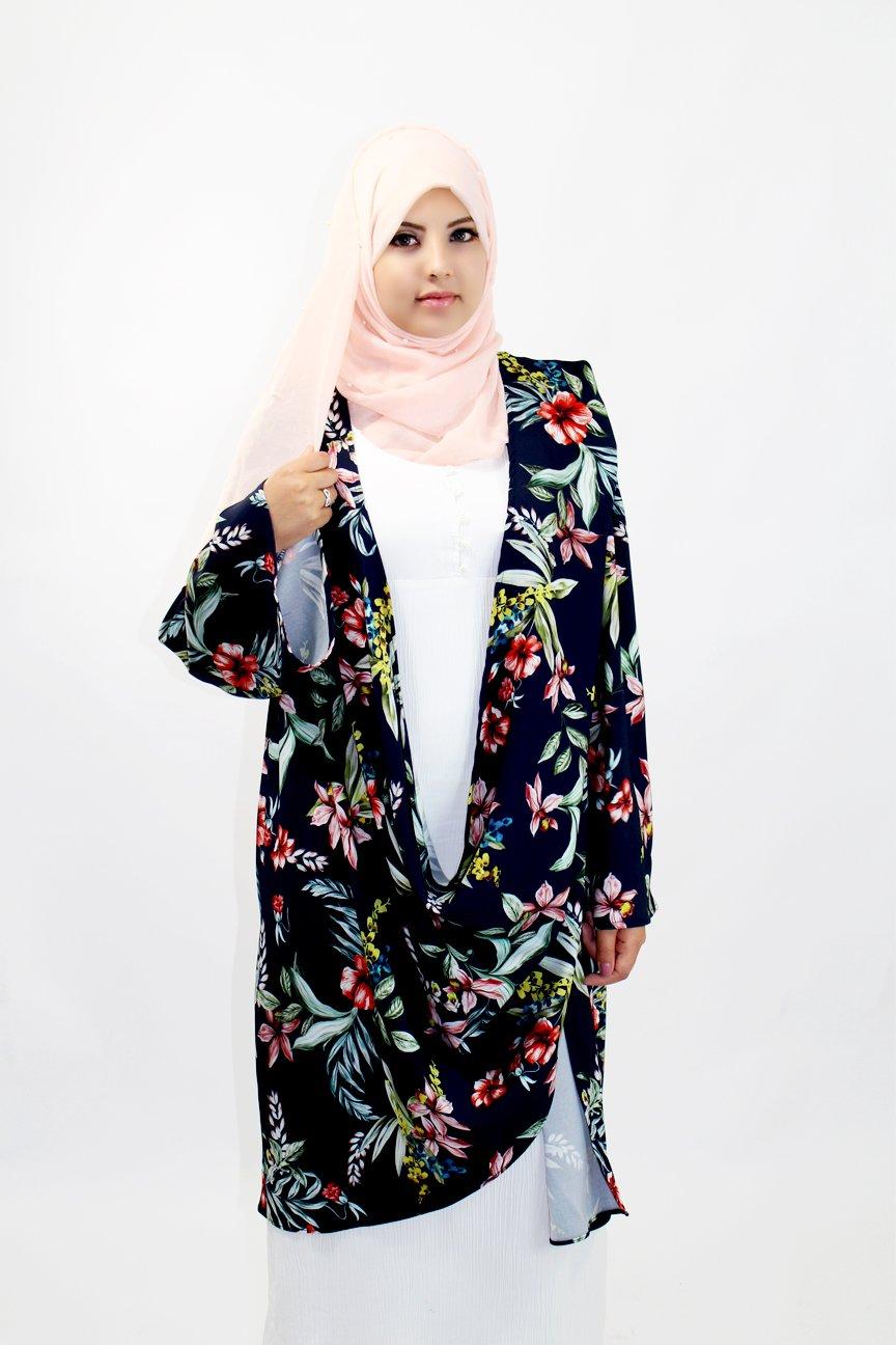 Kimono Fleur Drapée