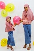 Hijab Fille + Ballon Eid