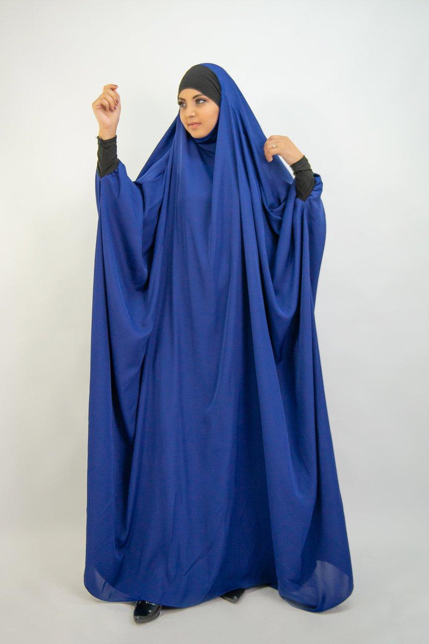 Jilbab Saudi lycra wrist