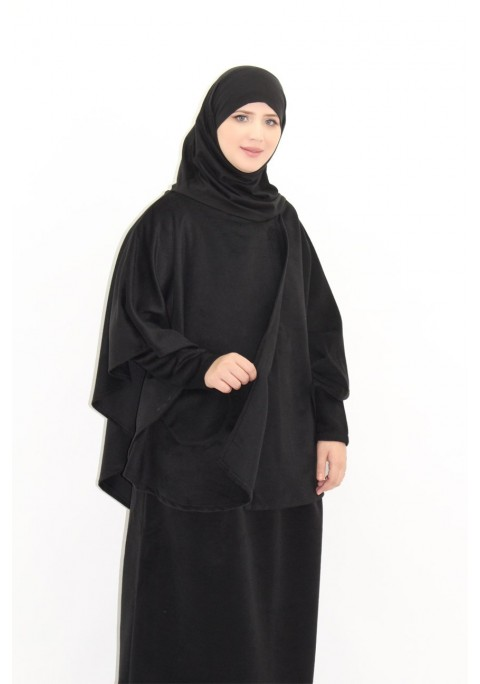 41e2af99ad3 Tunic with integrated hijab + Citadeen skirt - Moultazimoun Boutique