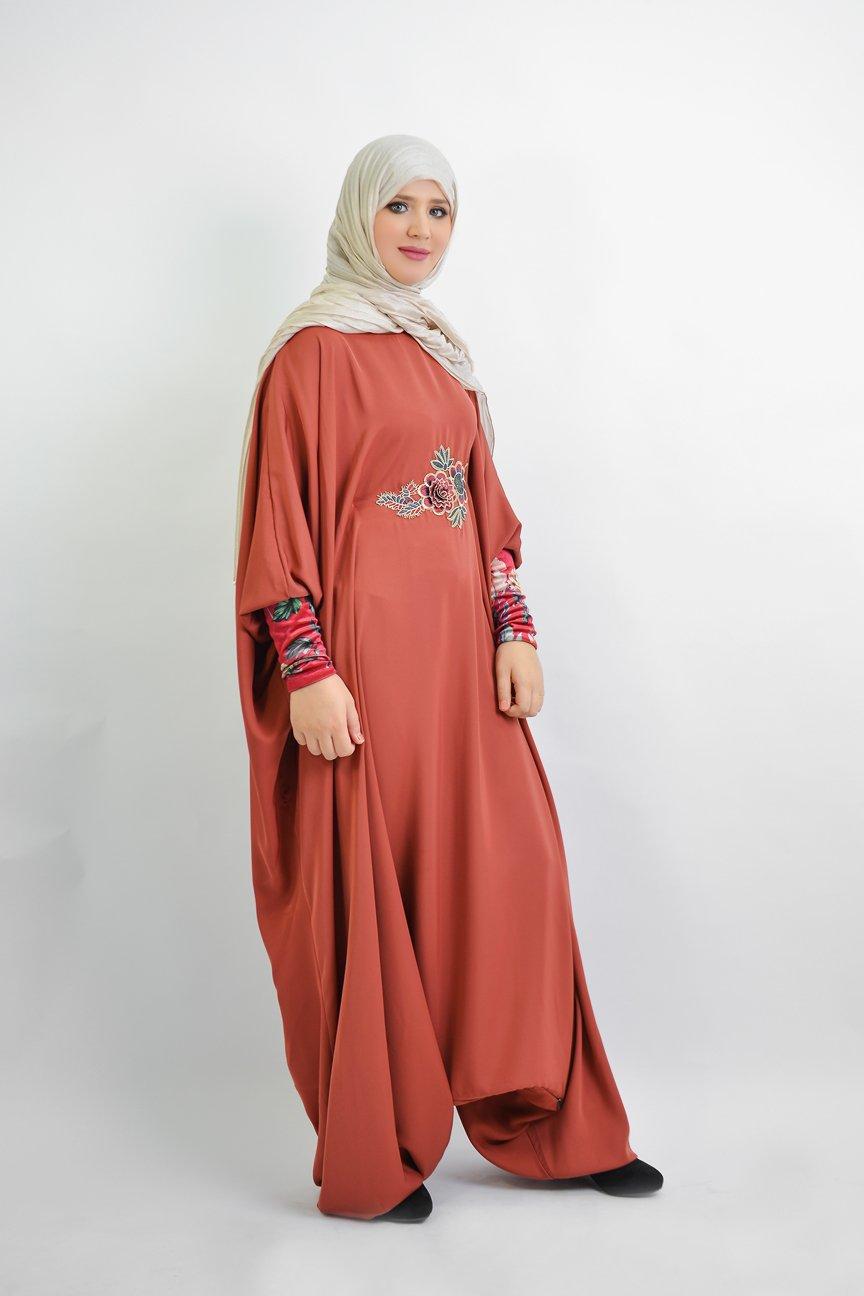 Abaya Sarouel Papillon