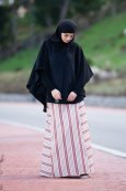 Cape Hijab Integrated Mohair
