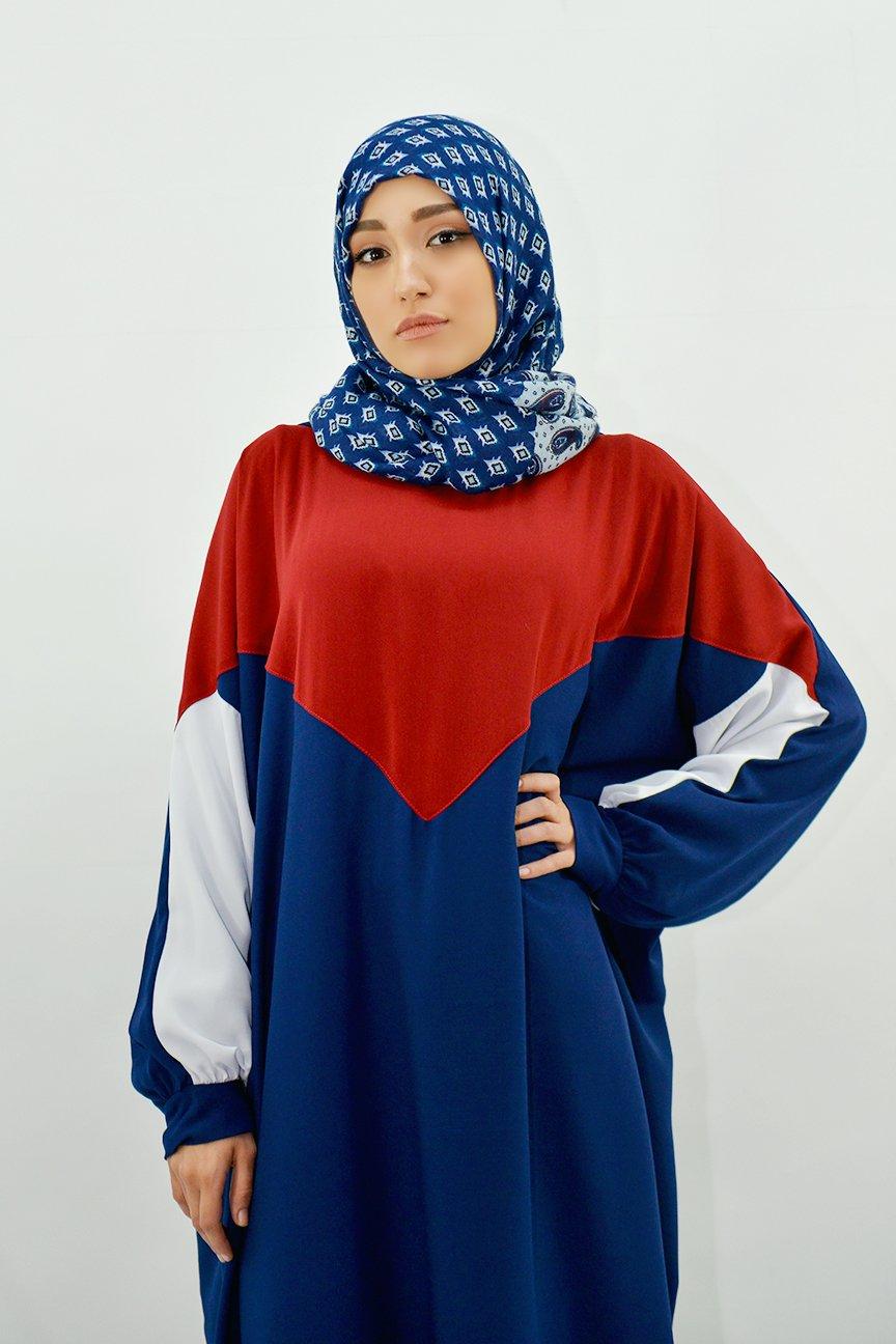 Abaya Capuche Color
