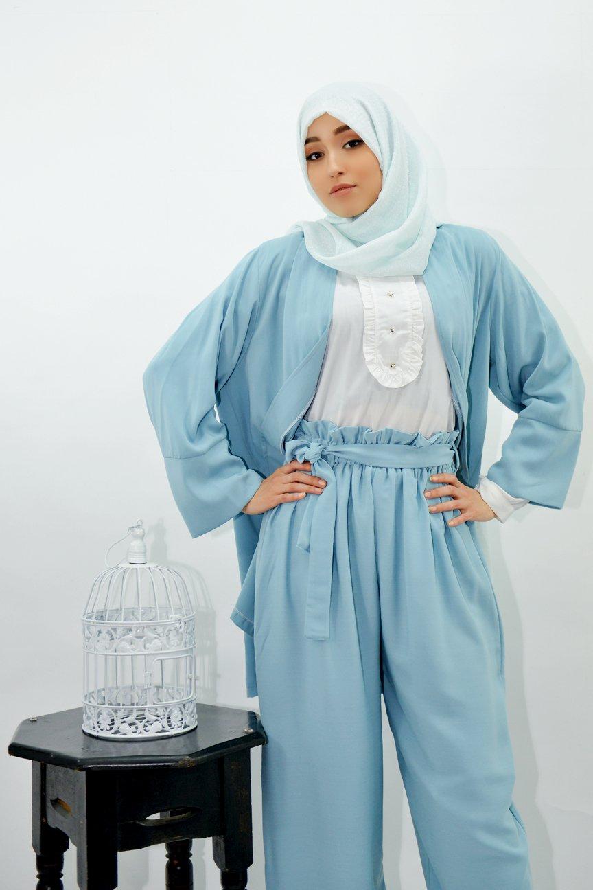 Ensemble Salma Pantalon + Kimono