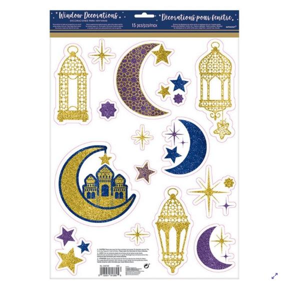 Stickers fenêtre Ramadan