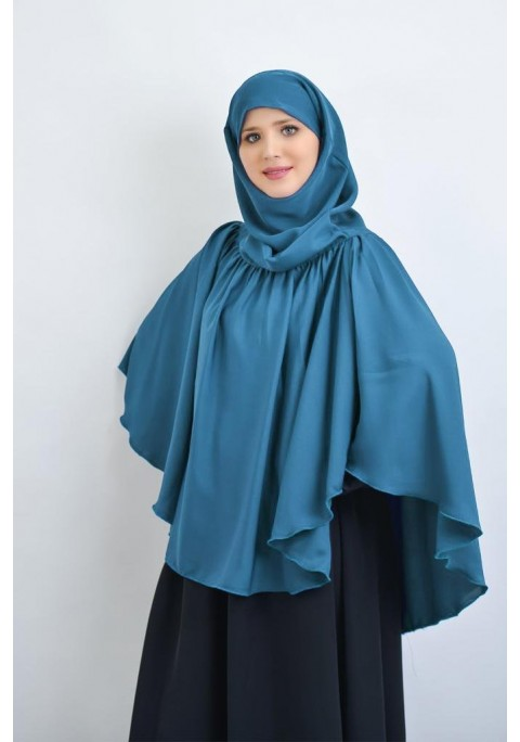 Khimar with gathers Fresh