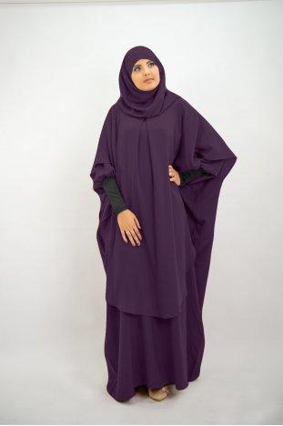 c81ff318265ad Jilbab deux pièces | Jilbabs capes et jupes - Moultazimoun Boutique