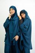 Abaya parapluie + cape avec hijab intégré