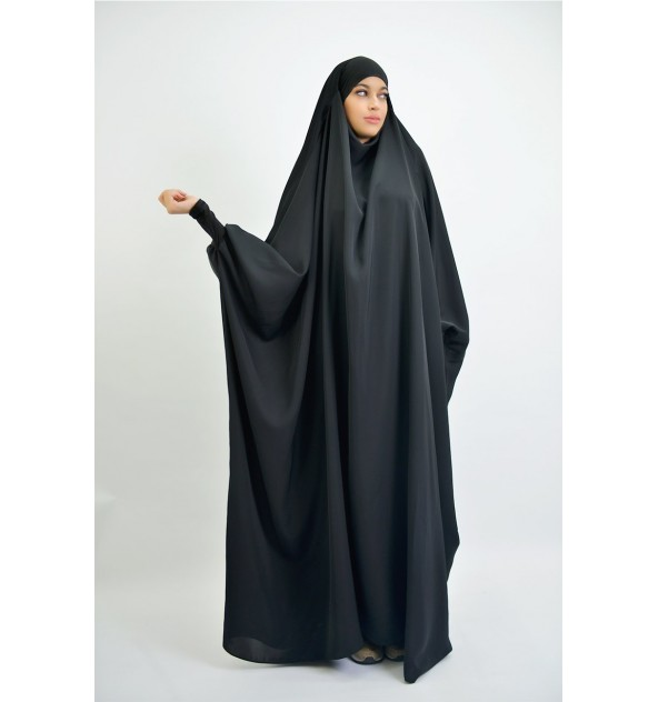 Jilbab Saoudien Nidha poignet lycra