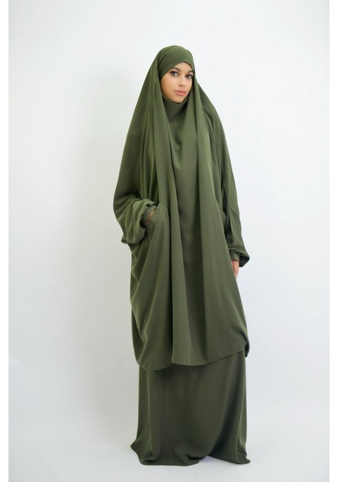 Jilbab houda cocoon with pockets skirt or sarwal