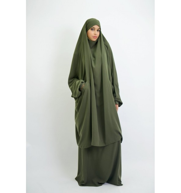 Jilbab cocoon pockets skirt or sarwal