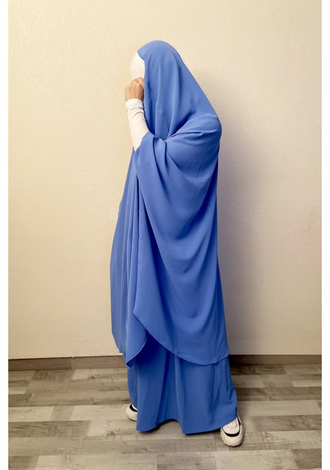 Jilbab Makkah Soft à poches