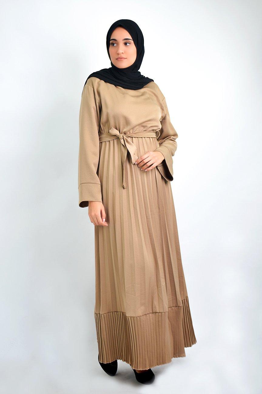 Abaya plissée Iman