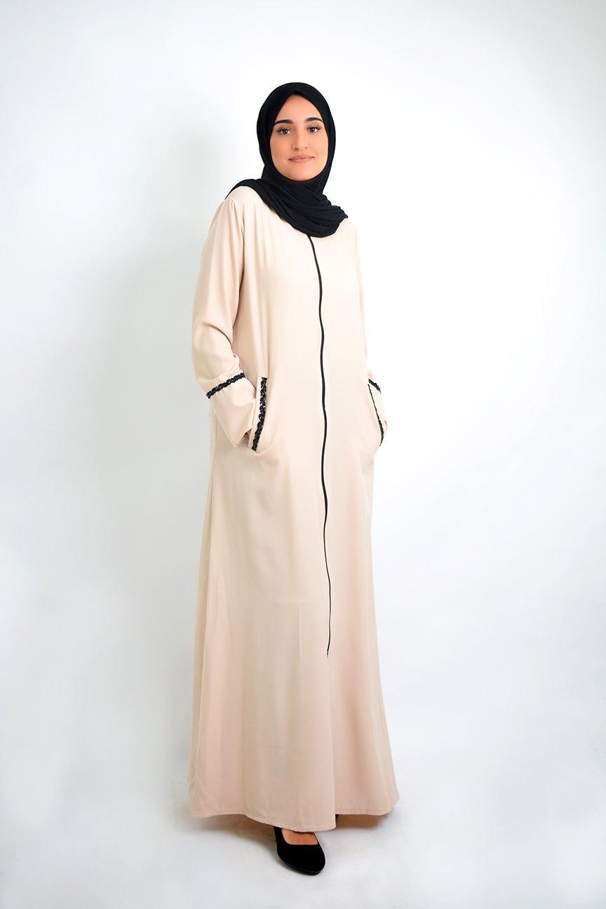 Abaya Suleimi à ouverture