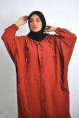 Abaya veste à capuche Trendy