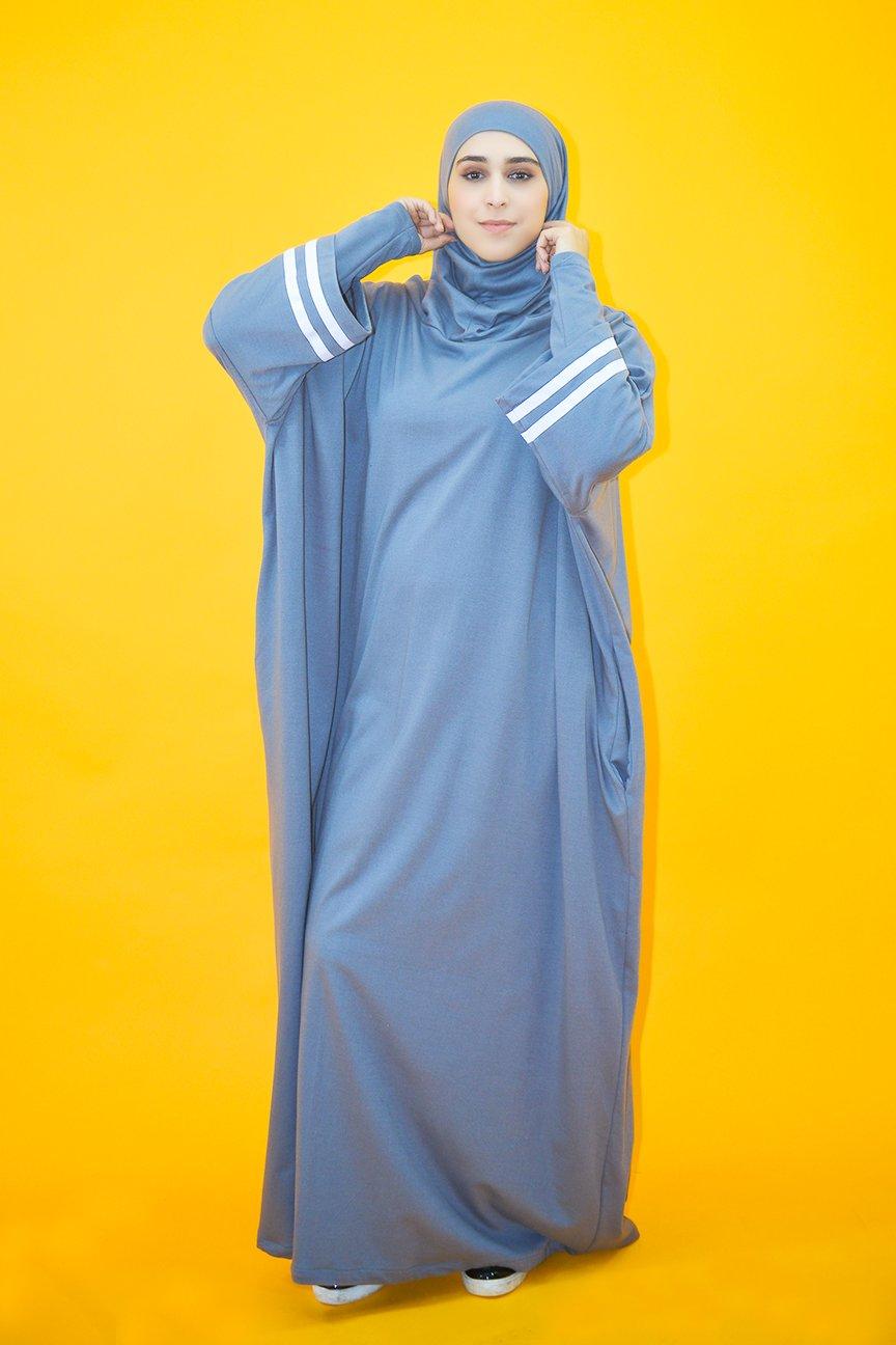 Abaya Jilbab Ajman Molleton