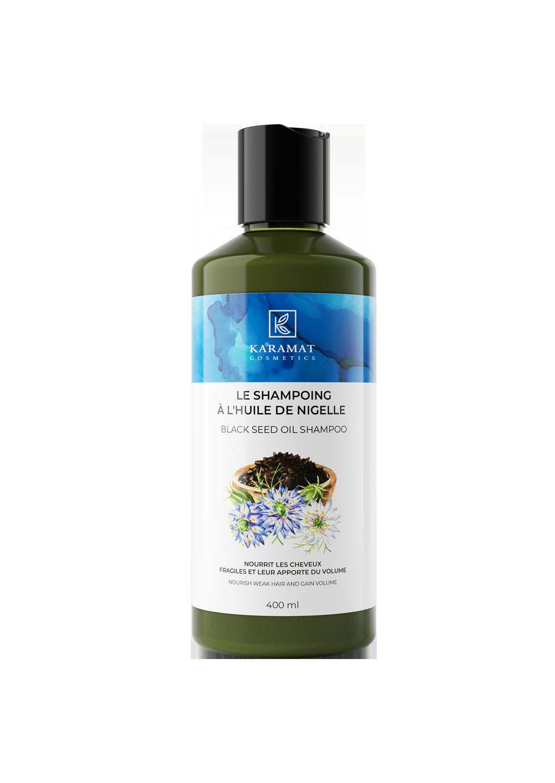 Shampoing à l'huile de nigelle