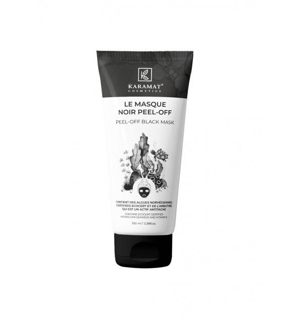 Masque Peel-off noir purifiant au charbon actif