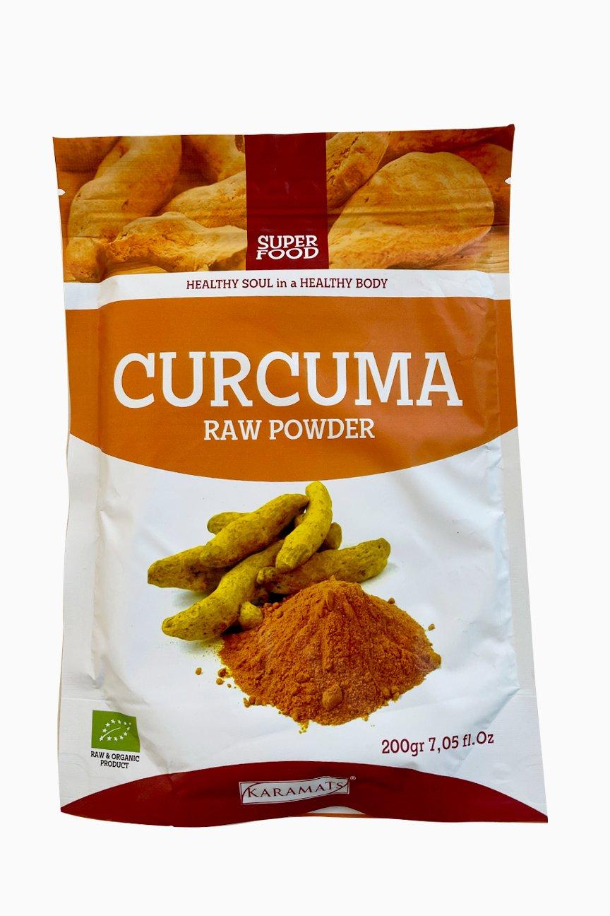 CURCUMA poudre vitaminée 200G