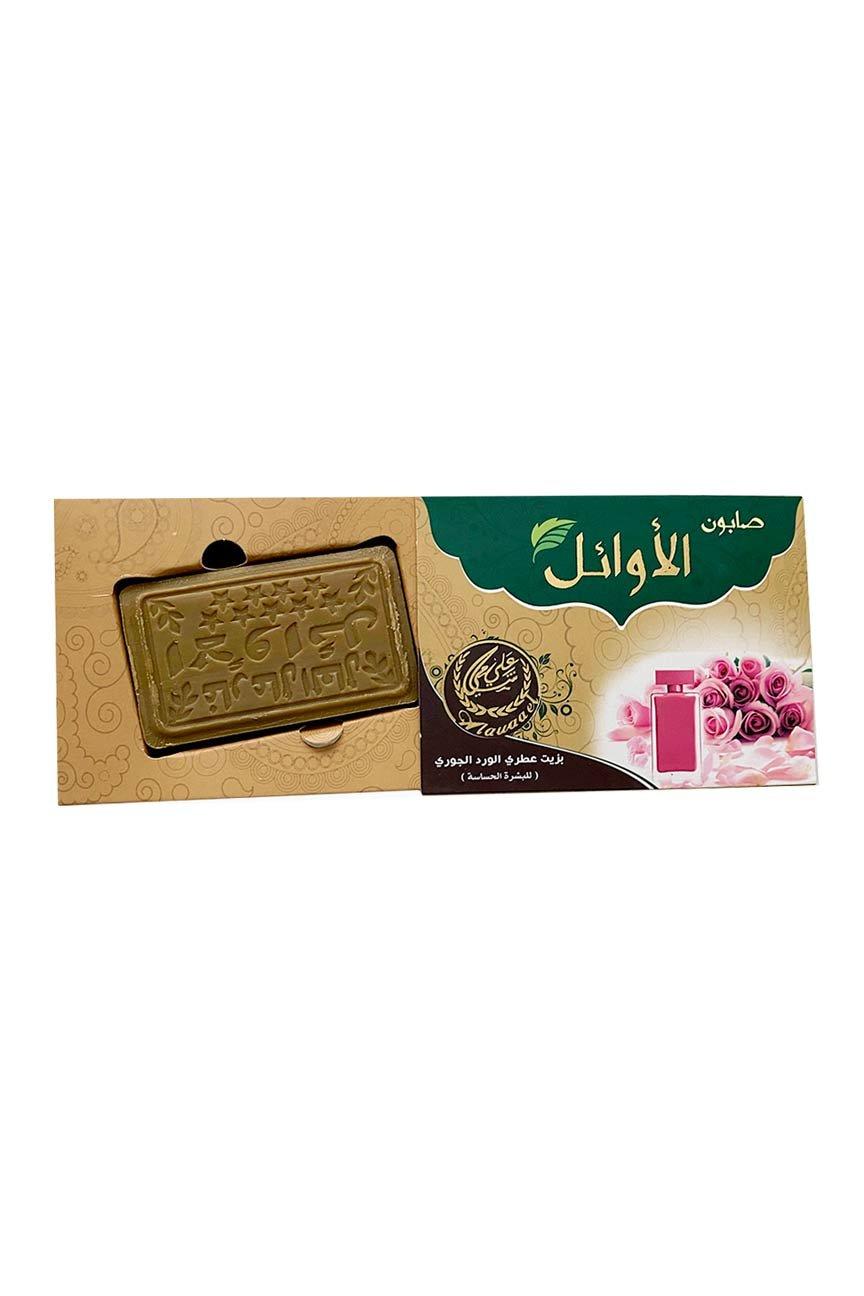 Savon d'Alep à l'huile de rose