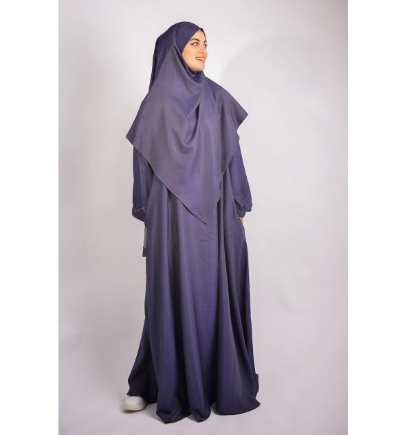 Abaya parapluie et khimar pointe Jean