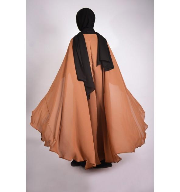 Abaya sumiya avec cape integre
