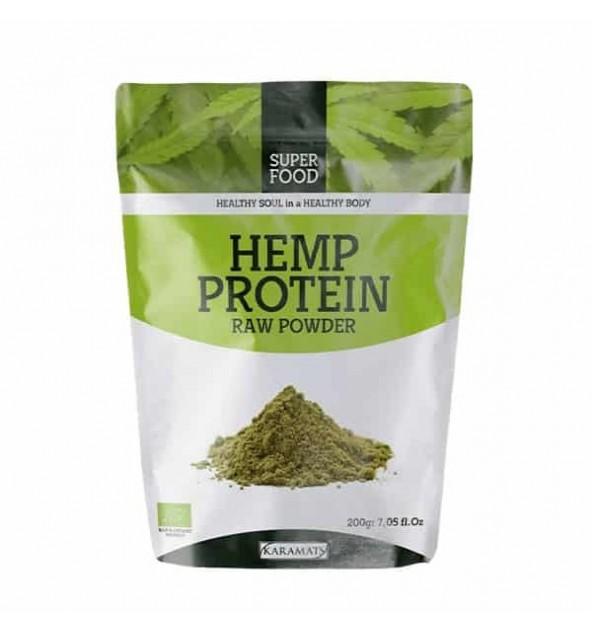 CHANVRE, protéine naturelle en poudre 200g