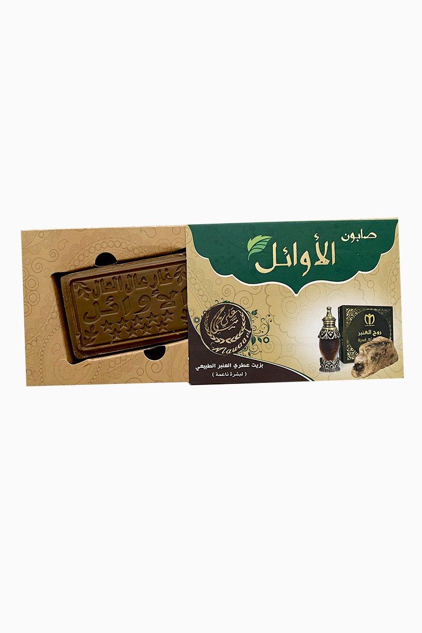 Savon d'Alep fragrance d'encens