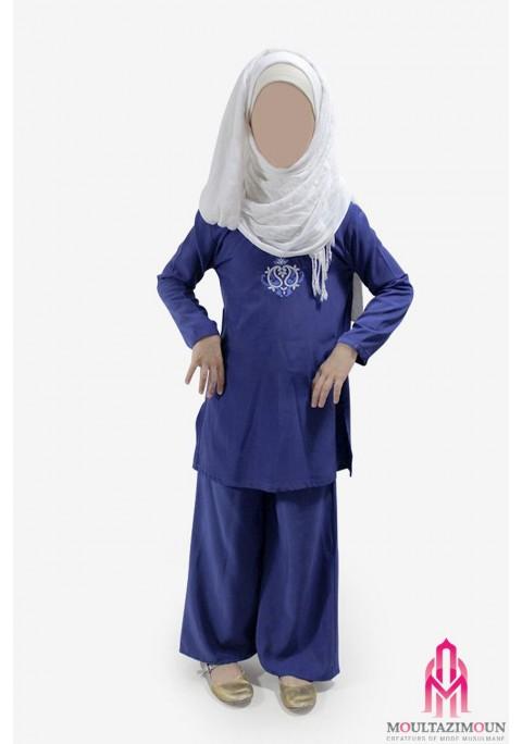 Palazzo + reversible tunic for girl
