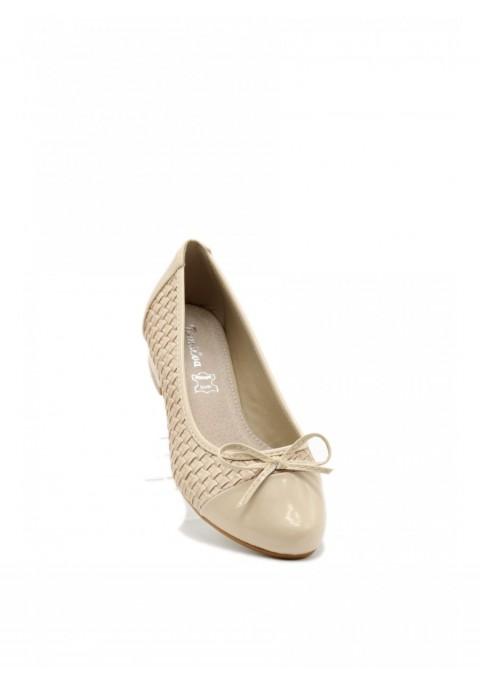 Flat ballerinas Sand