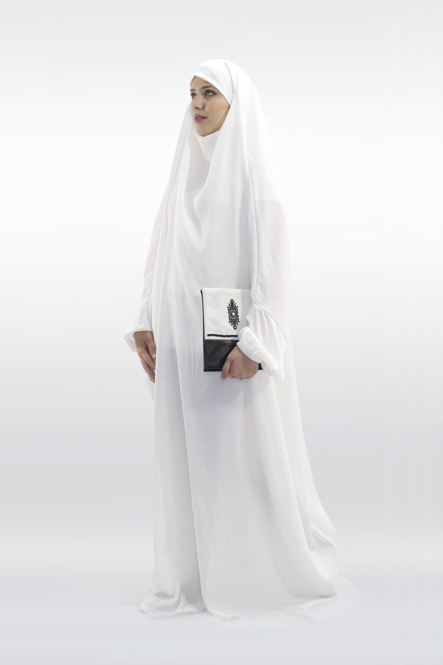 Jilbab Kawthar Blanc